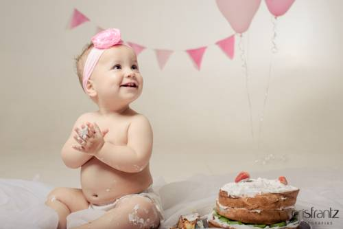 Ensaio cake smash - fotos