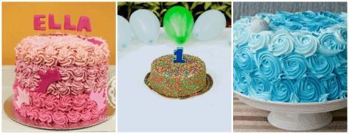 Tipos de bolo para smash the cake
