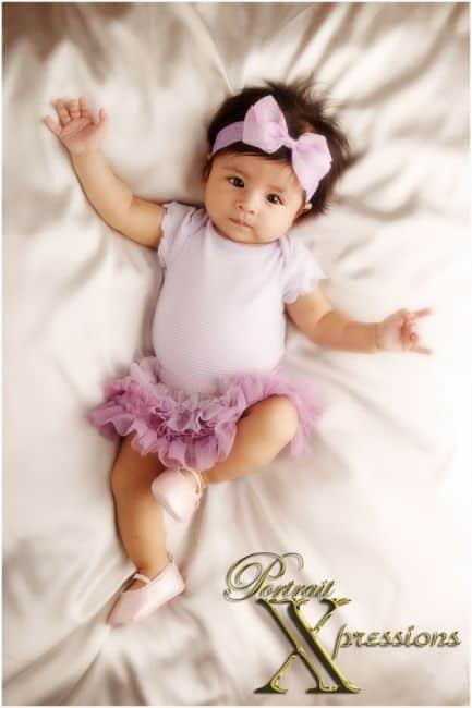 Ideias divertidas para book de bebê menina