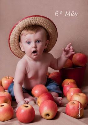 Ensaio fotográfico de bebê com tema