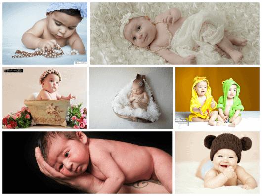 Como fazer book de bebê barato gastando pouco