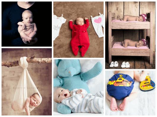 Dicas de fotos de bebês para book - pinterest e tumblr