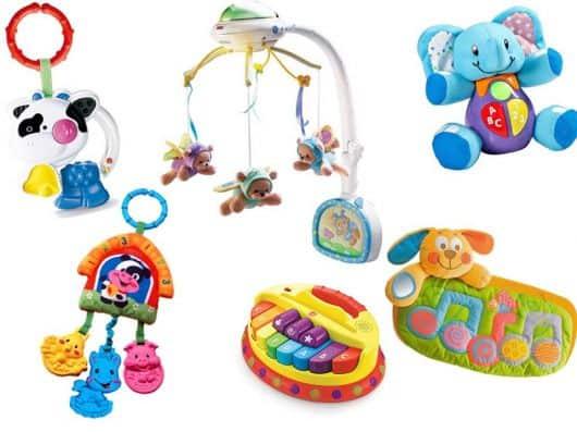 comprar brinquedos de bebê de 6 meses