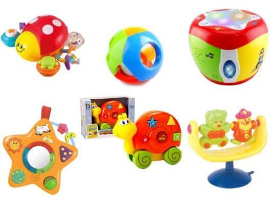 brinquedos coloridos