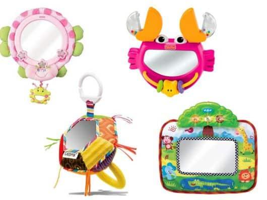 brinquedos com espelhos