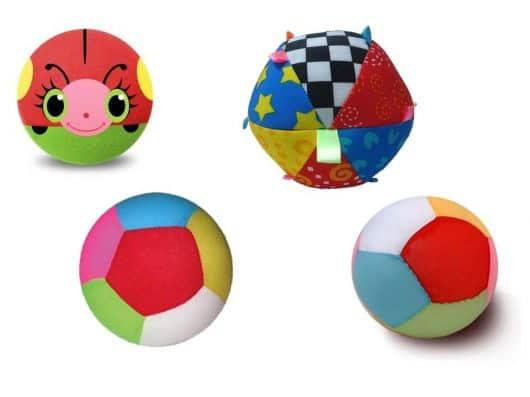 bolas coloridas para bebês