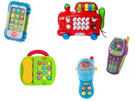 telefones para bebês