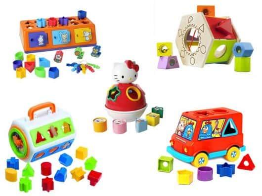 ideias de brinquedos para bebê de 1 ano