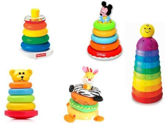 argolas para bebês brincar