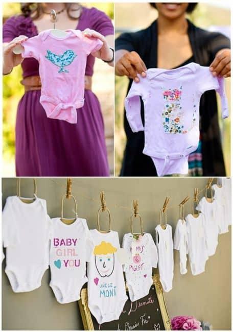 como decorar chá de bebê temático