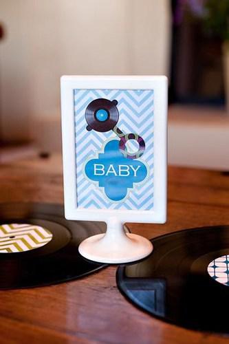 ideias simples de chá de bebê