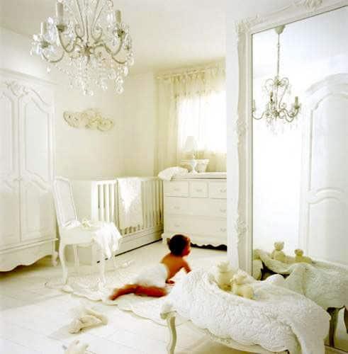 Fotos de Quarto de Bebê Provençal clean e moderno
