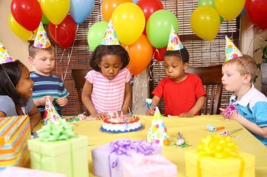 como organizar uma festa infantil