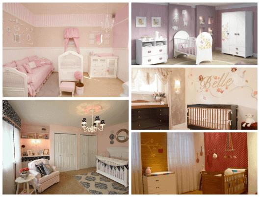 fotos de cores para quarto de bebê