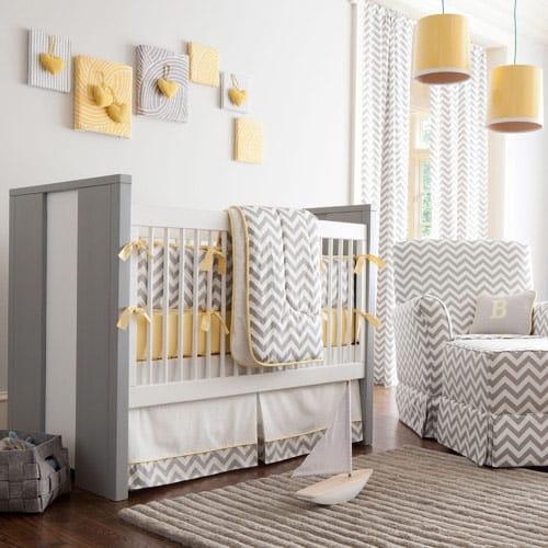 cores recomendadas para quartos de bebê