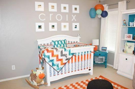cores para decorar quarto de bebê