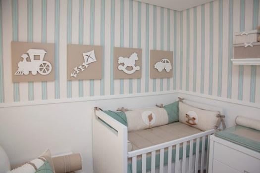 cores para pintar quarto de bebê
