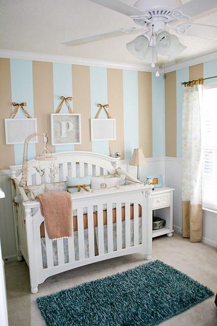 opções de cores para quarto de bebê