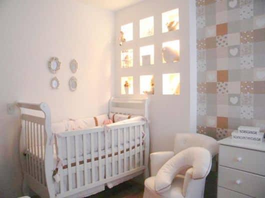 decoracao quarto bebe pequenos ambientes : decoracao quarto bebe pequenos ambientes:CORES PARA QUARTO DE BEBÊ: 50 Fotos, Dicas e Ideias