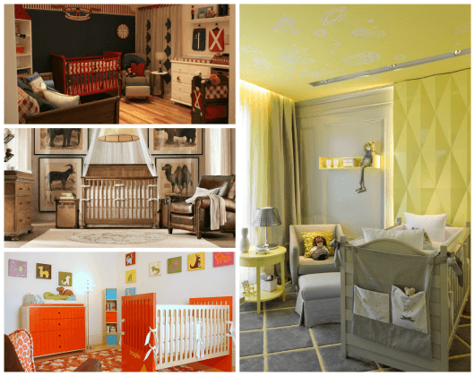 tendencia de cores para quarto de bebê