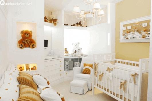 Resultado de imagem para quartos de bebe decorados cor neutro