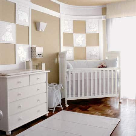 cores ideais para quarto de bebê