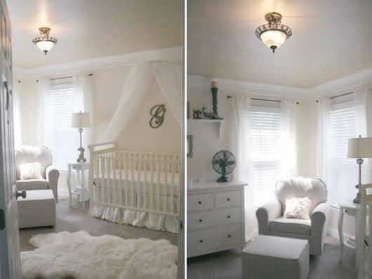 tons de cores para quarto de bebê