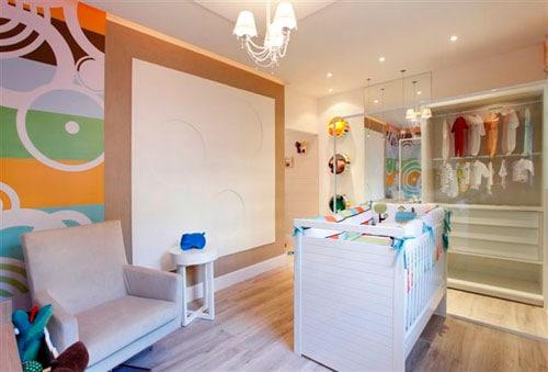cores para quarto de bebê casal