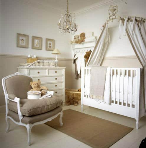 significado das cores para quarto de bebê