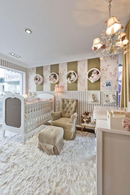 cores claras para quarto de bebê