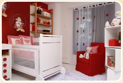 duas cores para quarto de bebê