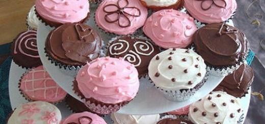 cup-cake-rosa-e-marrom-para-cha-de-bebe