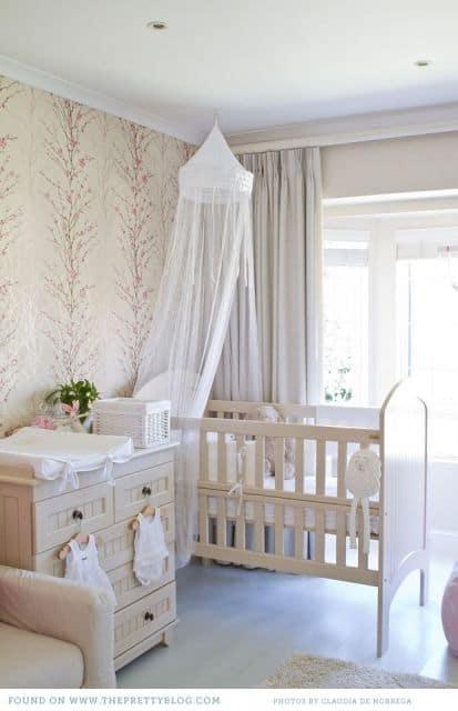 Onde comprar papel de parede para quarto de bebê provençal