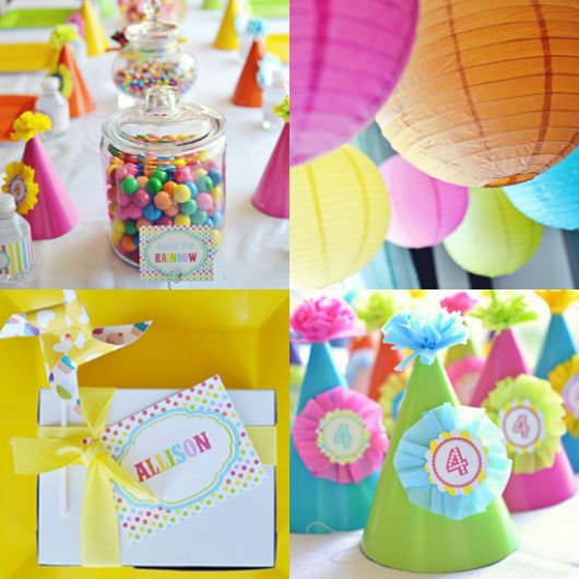 Decora o de festa infantil simples 35 ideias for Old age home landscape design