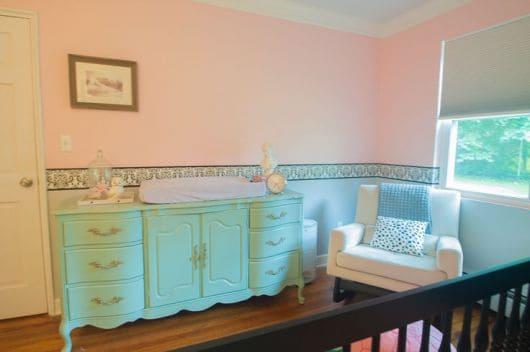 Lista de móveis para quarto de bebê com estilo provençal feminino