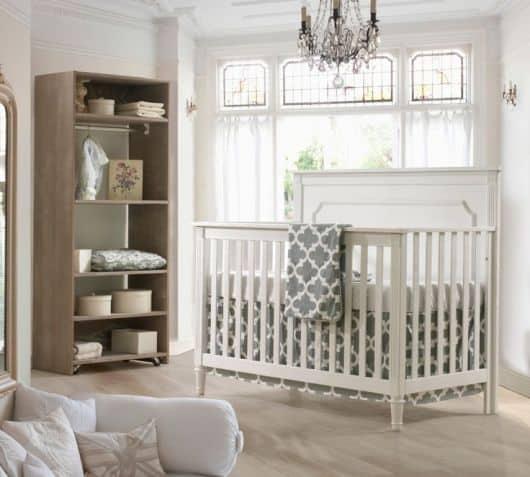 Dicas para Quarto de Bebê Provençal clean e chique
