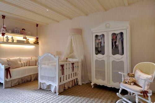 Decoração de Quarto de Bebê Provençal simples e barata