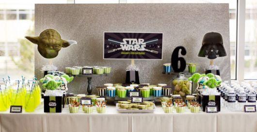 festa aniversário star wars