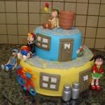 bolo de festa do chaves