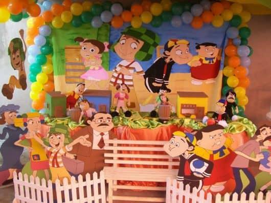 festa do chaves - decoração