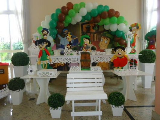 aniversário do chaves provençal
