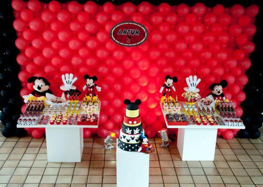 festa do mickey mouse provençal