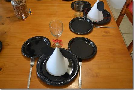 ornamentação da festa do mickey