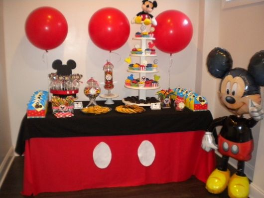 fotos de festa do mickey mouse