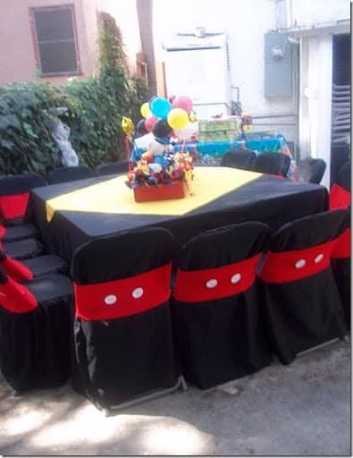 como decorar festa do mickey