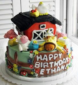 bolo de aniversário fazendinha