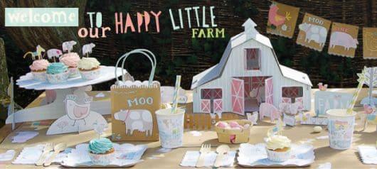 decoração de festa infantil fazendinha bebê