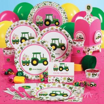 artigos de aniversário rosa tema fazenda