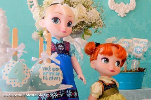 Dicas de decoração - Festa Frozen baby
