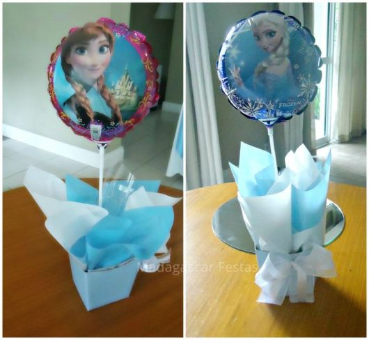Como fazer enfeites Frozen - DIY